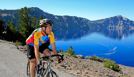 Crater Lake Bike Tour